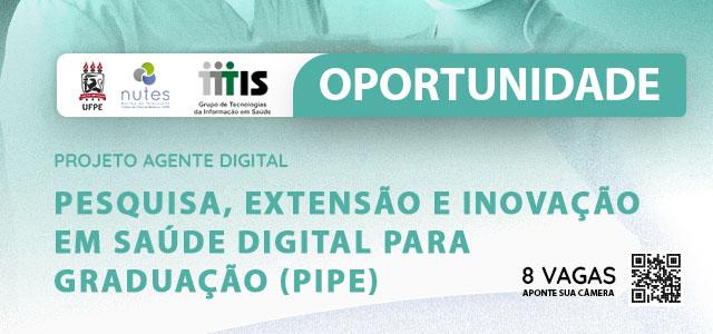 Aberta Nova Seleção Aluno Voluntário para Iniciação à Pesquisa em Saúde Digital