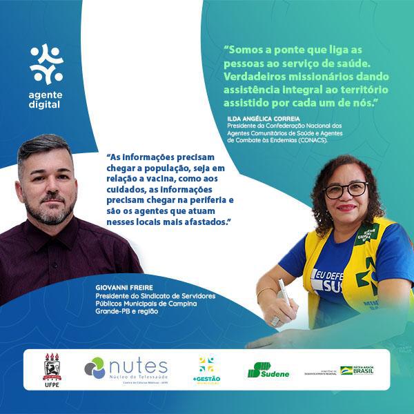Combatendo a pandemia da Covid-19: Agentes Comunitários de Saúde (ACS) e Agentes de Combate às Endemias (ACE) são os profissionais na linha de frente nas Comunidades Brasileiras